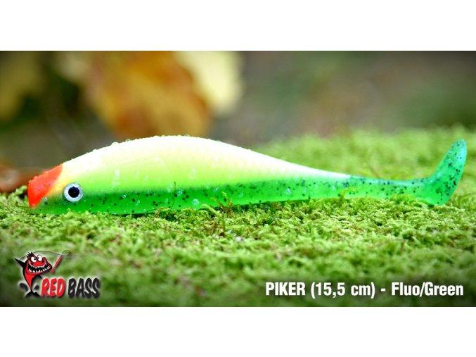 piker 15 5 fluo green