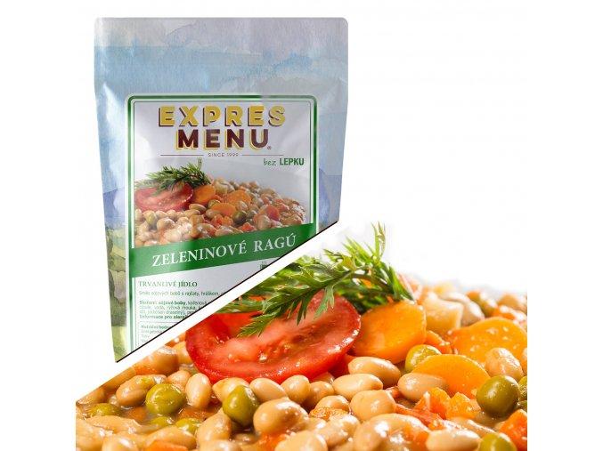 EXPRES MENU Zeleninové ragú  (1 porce) 300