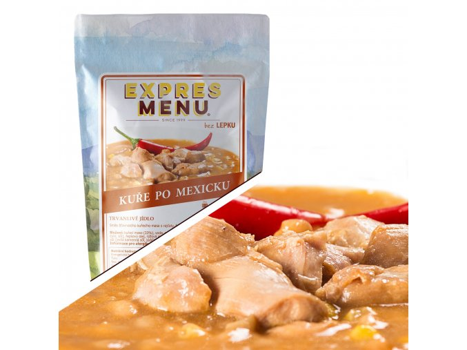 EXPRES MENU Kuře po mexicku (1 porce) 300