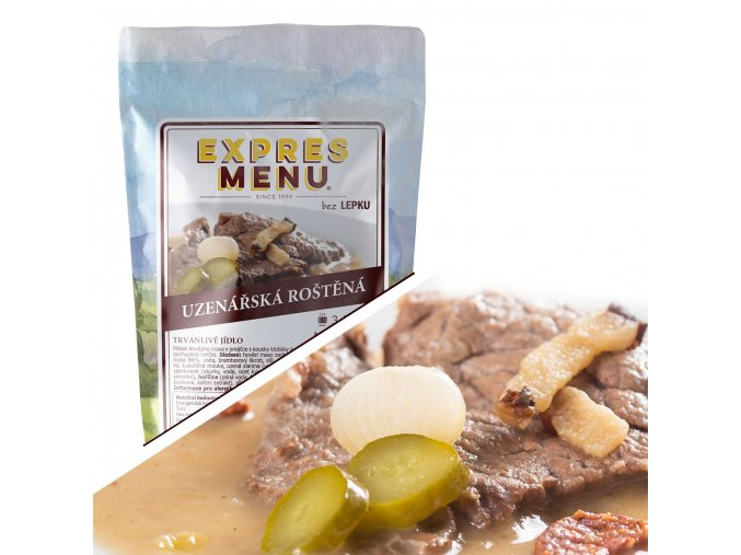 EXPRES MENU Uzenářská roštěná  (1 porce) 300