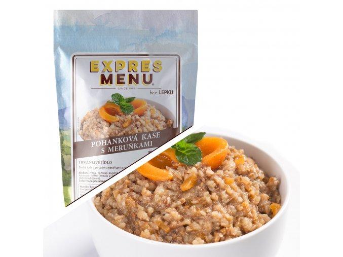 EXPRES MENU Pohanková kaše s meruňkami  (1 porce) 300