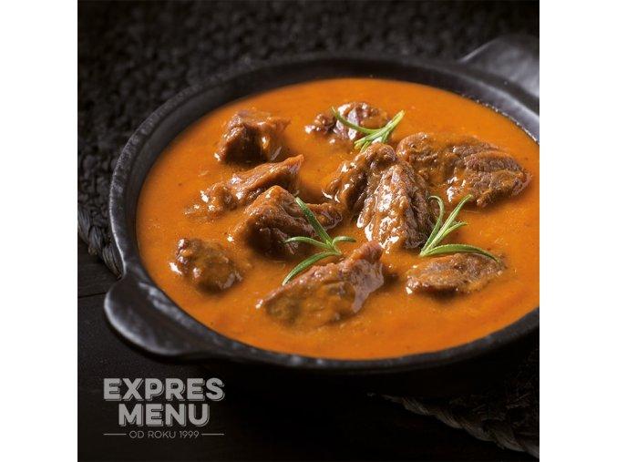 EXPRES MENU Hovězí guláš (2 porce) 600