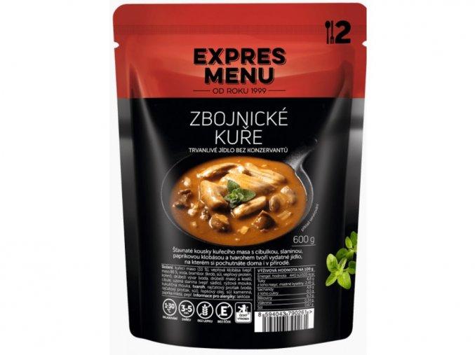 EXPRES MENU Zbojnické kuře (2 porce) 600
