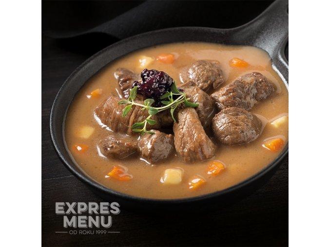 EXPRES MENU Jelení ragú (2 porce) 600
