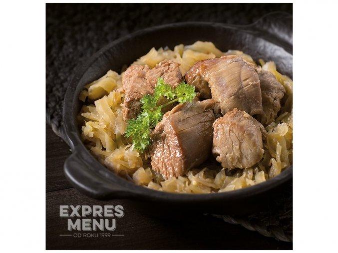 EXPRES MENU Krůta se zelím (2 porce) 600