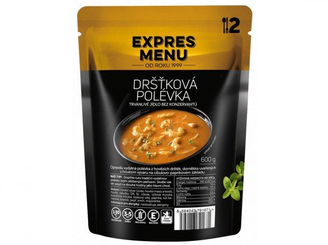EXPRES MENU Dršťková polévka (2 porce) 600