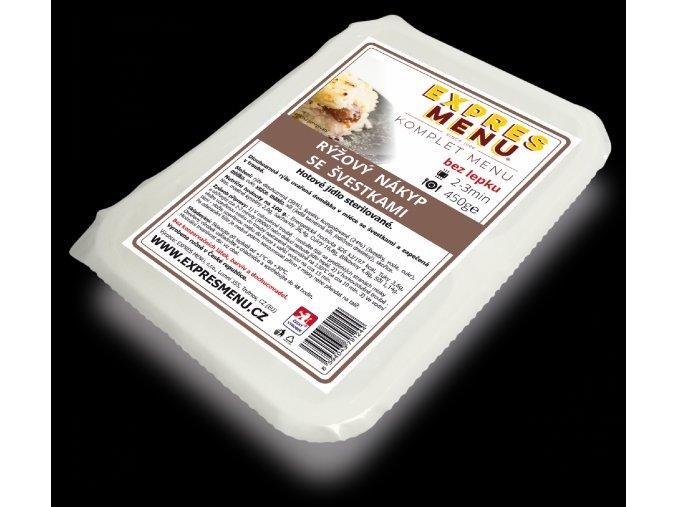 EXPRES MENU KM Rýžový nákyp se švestkami 450