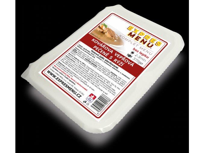 EXPRES MENU KM Kovářova vepřová pečeně s rýží 370