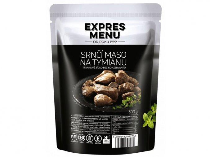 EXPRES MENU Srnčí maso na tymiánu (300 g) 300