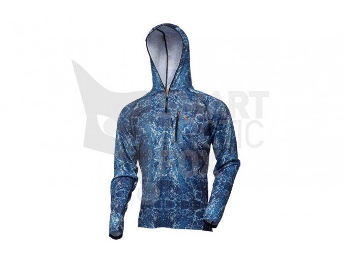 Rybářské tričko s dlouhým rukávem Savage Salt UV Hoodie
