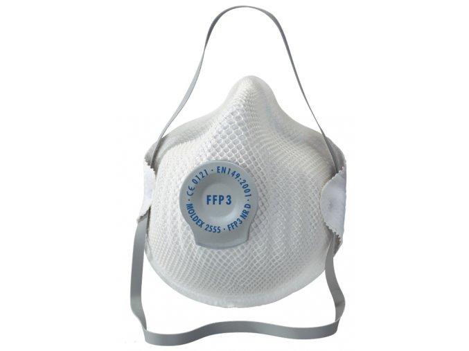 Respirátor FFP3 MOLDEX 2555 s výdechovým ventilkem