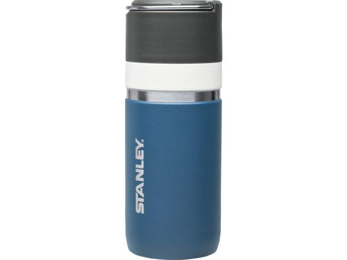 Termoska / termohrnek STANLEY Ceramivac™ - tungsten modrá (470ml)