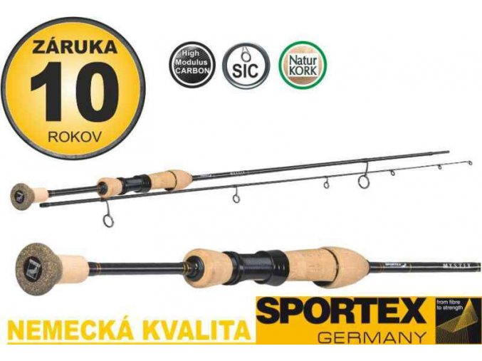 Přívlačové pruty Sportex Mystix Trout UL 2-díl