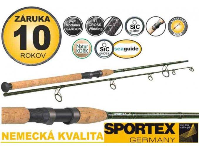 Přívlačové pruty Sportex Huchen De Lux XT 2-díl
