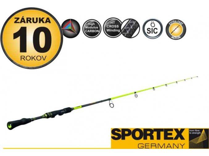 Přívlačový prut Sportex STYX - V - jednodílný