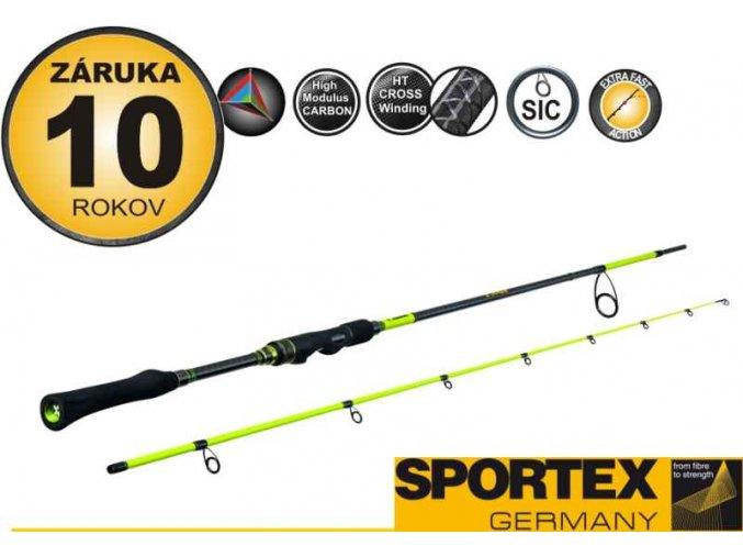 Přívlačový prut Sportex STYX - B - dvoudílný