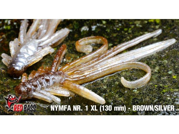 nymfa nr1 vel xl brown silver