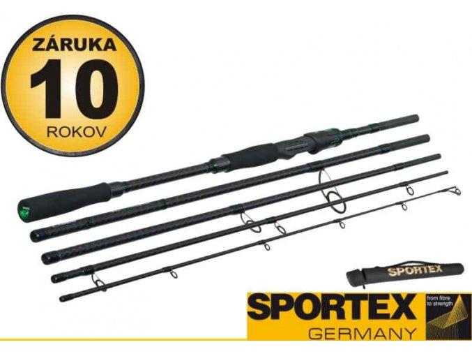 Přívlačový prut Sportex Carat Special Travel