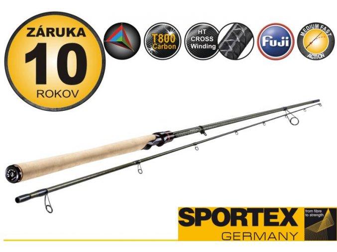 Přívlačové pruty SPORTEX Air Spin Seatrout 2díl