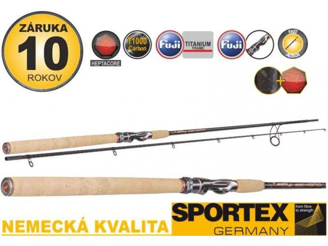 Přívlačové pruty Sportex Beyond Seatrout 2-díl