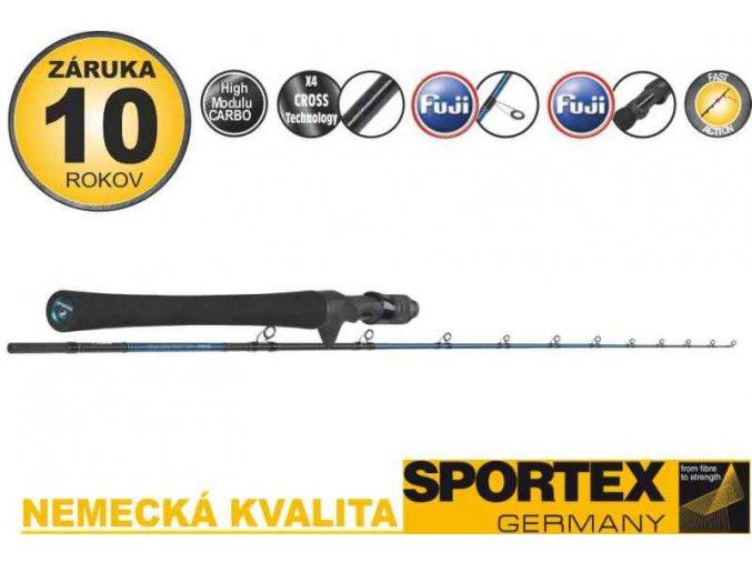 Přívlačové pruty Sportex Bassista Jerk Baitcast 2-díl