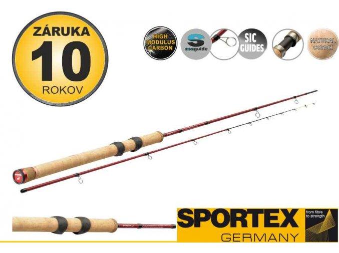 Přívlačové pruty SPORTEX Coregonum XTL 240cm / 5-25g