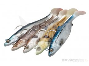 Jig na halibuty Savage Gear 4D Herring Big Shad 32cm 560g