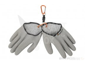 Rukavice k lovu dravých ryb Savage Gear Aqua Guard Gloves