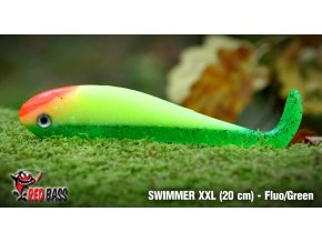 swimmer xxl fluo green
