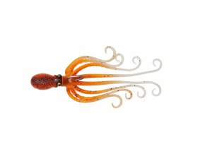Gumová chobotnice Savage Gear 3D Octopus 20cm 185g Orange Glow