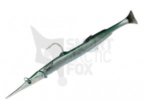 Jehlice Savage Gear 3D Needlefish Pulse Tail 2+1 Green Needlefish 55g