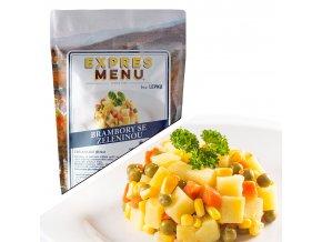 EXPRES MENU Brambory se zeleninou (2 porce) 500