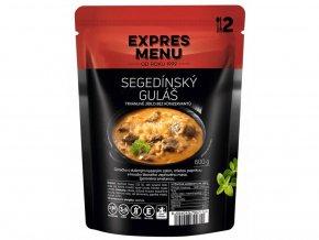 EXPRES MENU Segedínský guláš (2 porce) 600