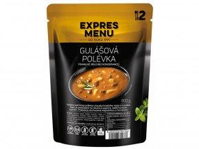 EXPRES MENU Gulášová polévka (2 porce) 600