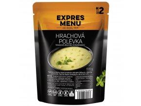 EXPRES MENU Hrachová polévka  (2 porce) 600