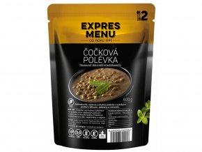 EXPRES MENU Čočková polévka  (2 porce) 600