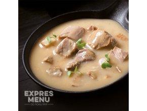 EXPRES MENU Krůta na slanině (2 porce) 600