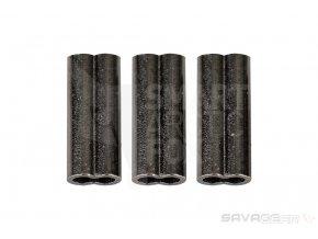 Krimpovací svorky Savage Gear Double Barrel Crimps 1.5mm 50ks