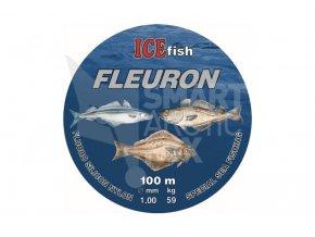 Fluorokarbon na mořský rybolov ICE fish Fleuron 1mm