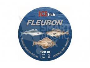 Fluorokarbon na mořský rybolov ICE fish Fleuron 1.2mm