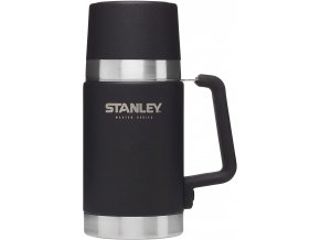 Jídelní termoska STANLEY Master series - Foundry Black (700ml)