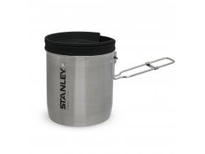 Kompaktní set na vaření STANLEY z nerezové oceli - miska + příbor (700ml)