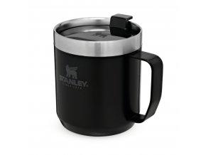 Hrnek STANLEY Camp mug - černý mat (350ml)