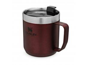 Hrnek STANLEY Camp mug - vínová (350ml)