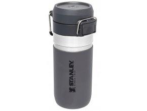 STANLEY GO FLIP vakuová láhev 470 ml tmavě šedá