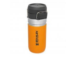 STANLEY GO FLIP vakuová láhev 470 ml žluto oranžová