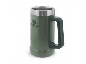 Vakuový korbel na pivo STANLEY Adventure series - zelený (700ml)