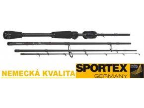 Přívlačové pruty SPORTEX Nova Ultra Light Travel