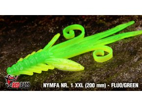 nymfa nr1 vel xxl fluo green