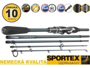 Přívlačový prut Sportex Graphenon Travel Ultra